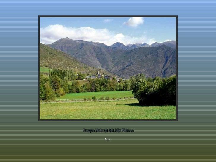 Son  Parque Natural del Alto Pirineo