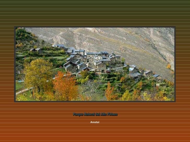 Arestui Parque Natural del Alto Pirineo