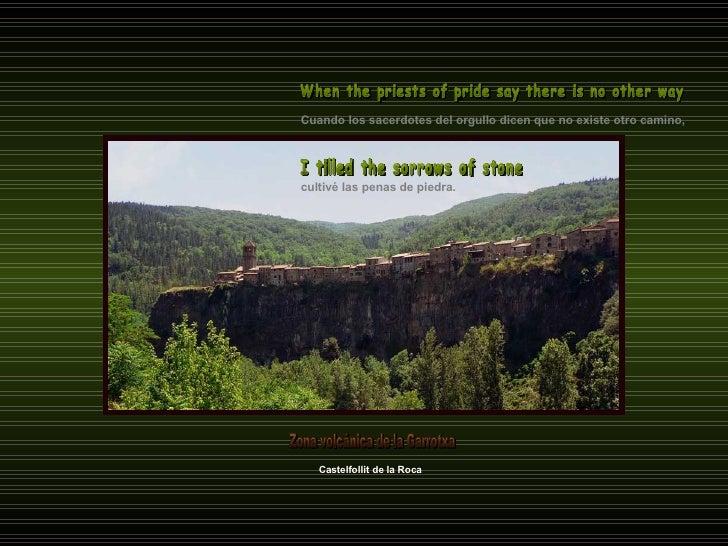 Cuando los sacerdotes del orgullo dicen que no existe otro camino, When the priests of pride say there is no other way Cas...