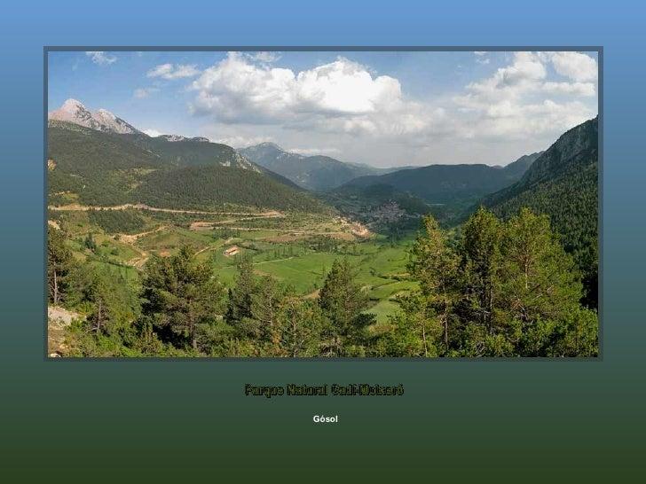 Gósol Parque Natural Cadí-Moixeró