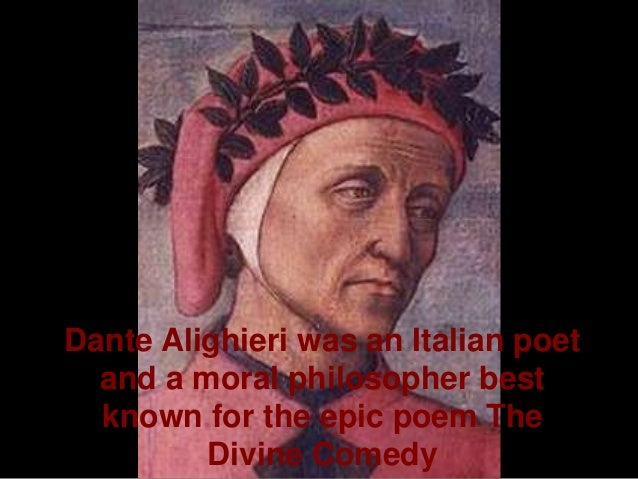 an analysis of the spiritual vision through dante alighieri an italian poet A summary of cantos i–ii in dante alighieri's summary & analysis cantos i halfway through his life, the poet dante finds himself wandering alone in.