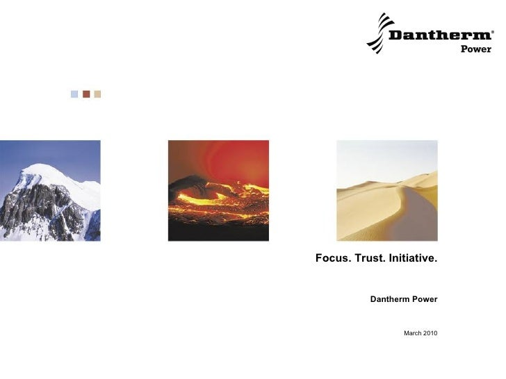 Dantherm Power March 2010