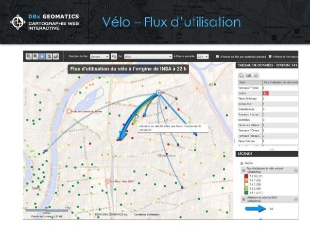 Observatoire interactif des accessibilités pour une mobilité urbaine intelligente pour le Grand Lyon, France