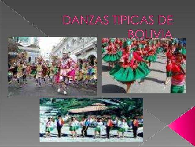 Danzas tipicas de bolivia.....................