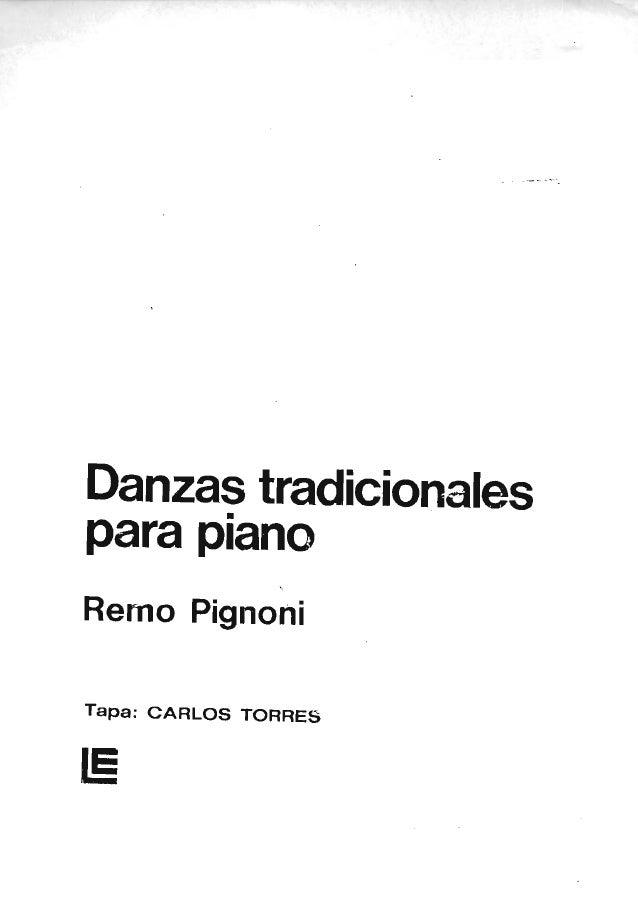 Danzas tradicionales para piano remo pignoni (p159)