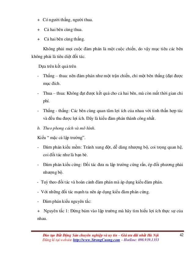 42Đào tạo Bất Động Sản chuyên nghiệp và uy tín – Giá ưu đãi nhất Hà Nội Đăng kí tại website http://www.StrongCuong.com – H...