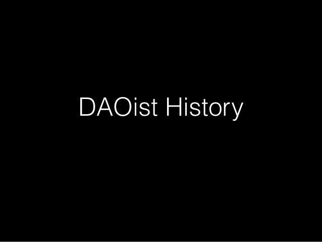 DAOist History
