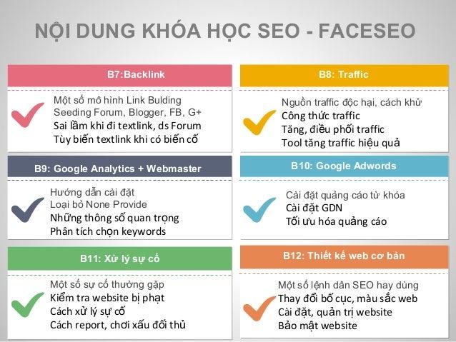 Đào tạo SEO tại Nha Trang do Faceseo tổ chức Slide 3
