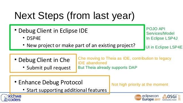 Adopting Debug Adapter Protocol in Eclipse IDE: netcoredbg