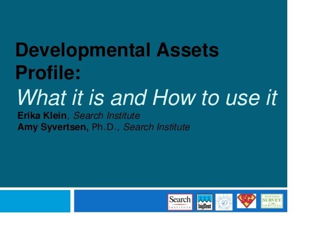 developmental assets