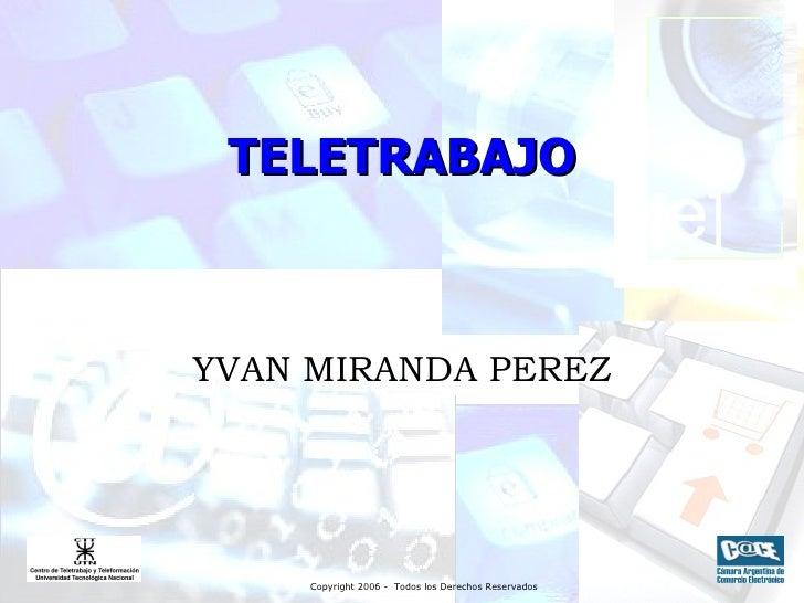 TELETRABAJO YVAN MIRANDA PEREZ