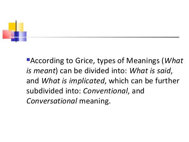 conversational implicature in pragmatics pdf