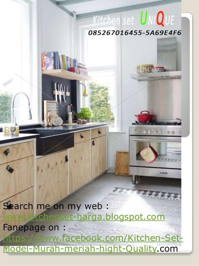 Dapur Kecil Tanpa Kitchen Set Harga Kitchen Set Lapis Hpl Kitchen S