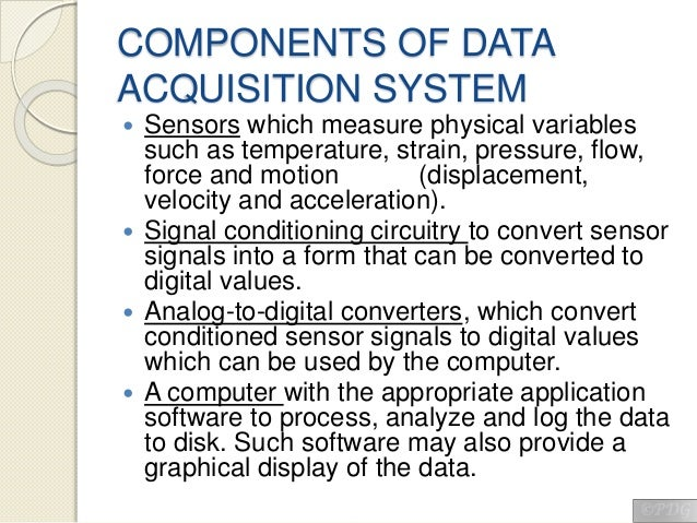 Simple Data Acquisition System : Data acquisition system