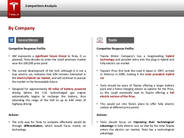 darden school of business tesla strategic analysis