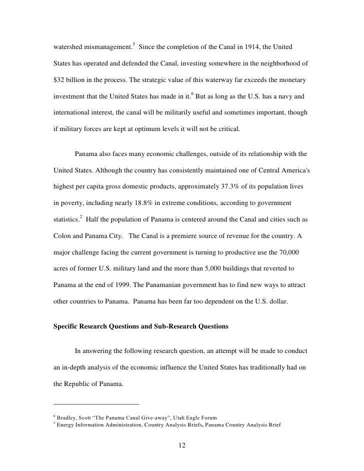 Grad school thesis topics in economics