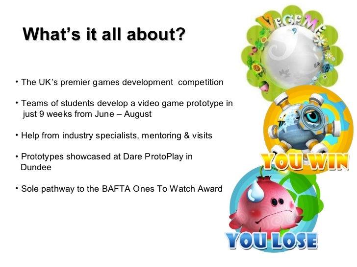 Dare to be Digital 2012 - Information presentation  Slide 2