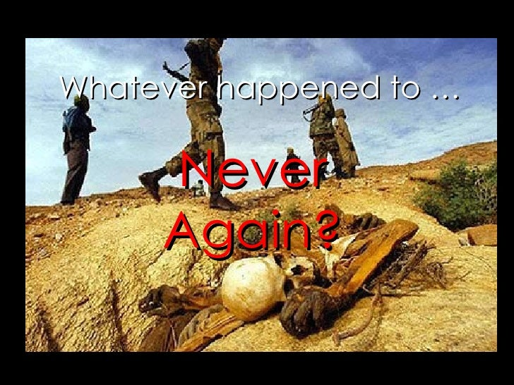 Whatever happened to … Never Again?