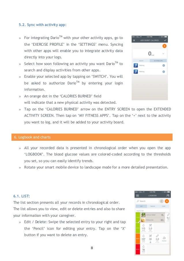 Dario Diabetes Management App