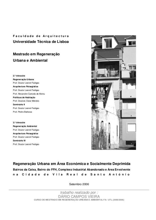 regenerao urbana em rea econmica e socialmente deprimida dcv trab mestrado regeneracao urb 2006 1 638