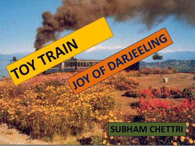Toys N Joys Website : About darjeeling toy train joy of