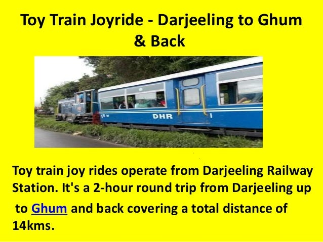Plan Toys Train Joys : About darjeeling toy train joy of