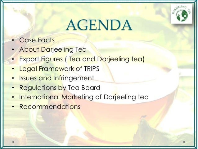 tea study This title is part of the idh case study series, published in december 2010 another title in this idh case study series is: • unilever sustainable tea, part ii.