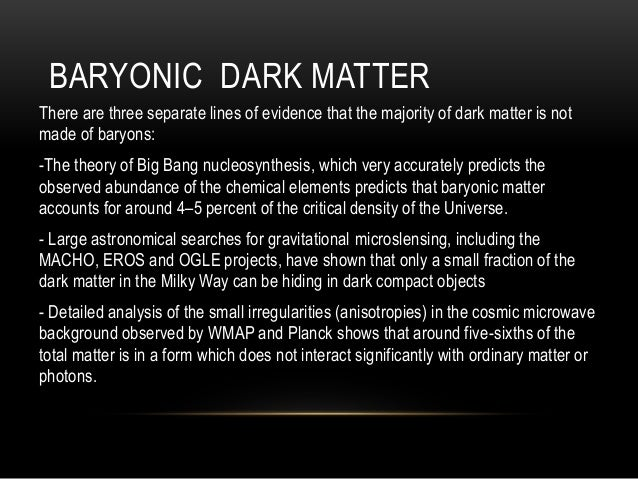 dark matter theory evidence - photo #20