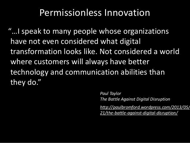 """""""…I speak to many people whose organizations have not even considered what digital transformation looks like. Not consider..."""