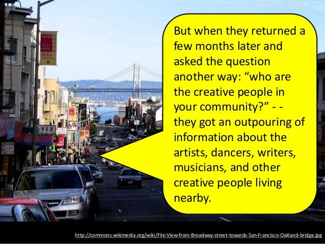 http://commons.wikimedia.org/wiki/File:View-from-Broadway-street-towards-San-Francisco-Oakland-bridge.jpg But when they re...