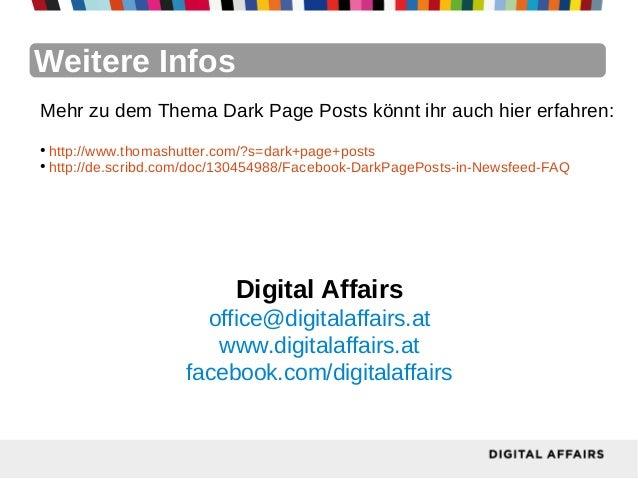 Weitere InfosMehr zu dem Thema Dark Page Posts könnt ihr auch hier erfahren:●  http://www.thomashutter.com/?s=dark+page+po...