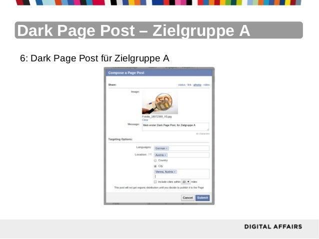 Dark Page Post – Zielgruppe A6: Dark Page Post für Zielgruppe A