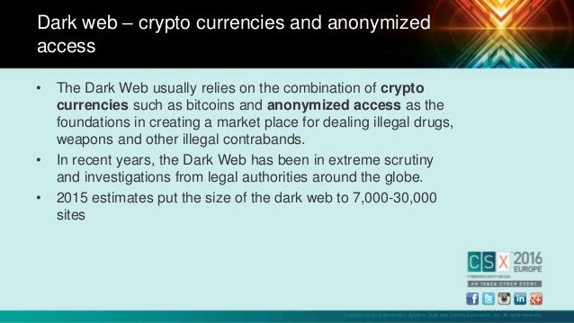 Dark web markets: from the silk road to alphabay, trends and