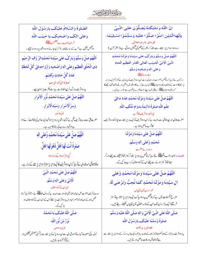 Darood sharif-collection