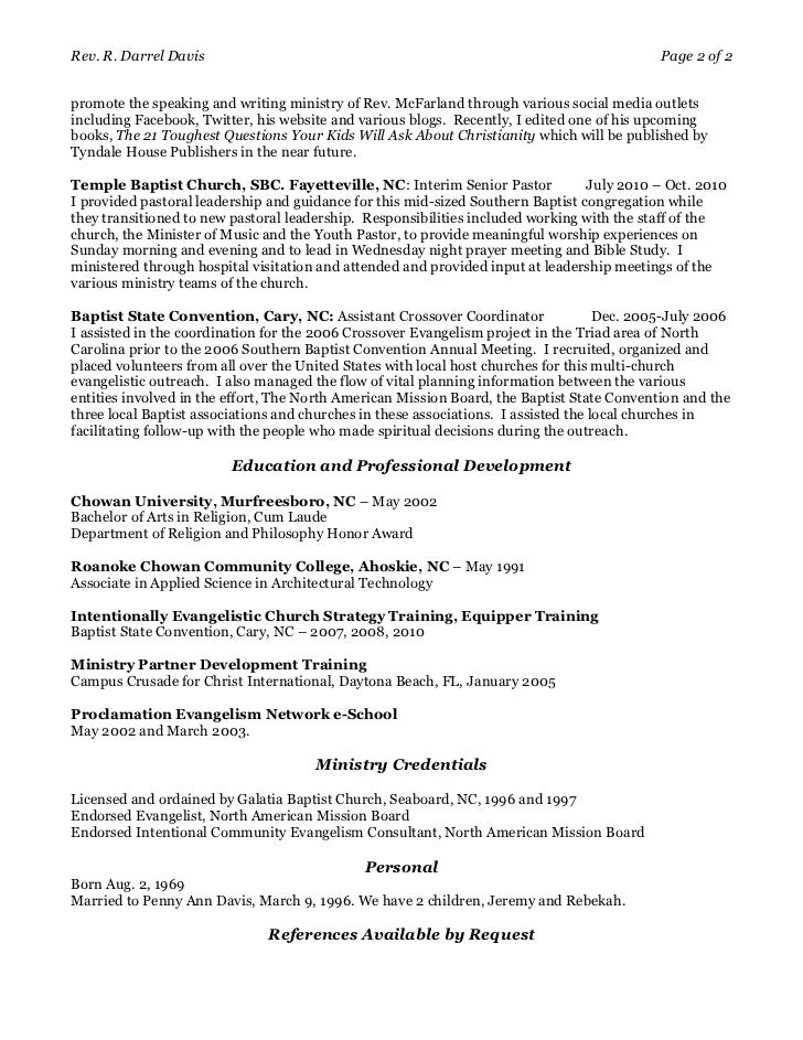 Resume Writing Services for Executives evangelist net resume ...