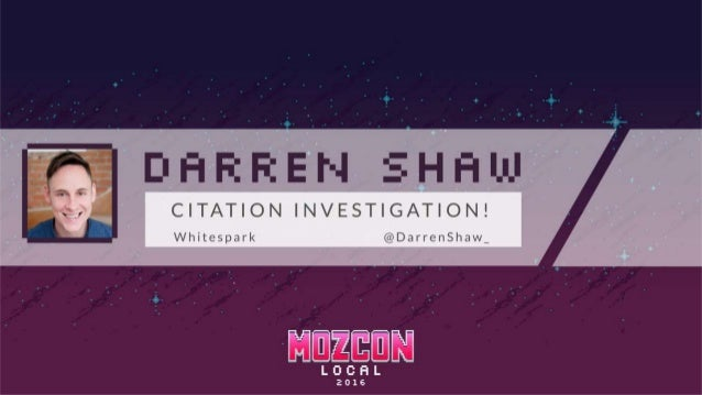 Data Aggregator Study @DarrenShaw_