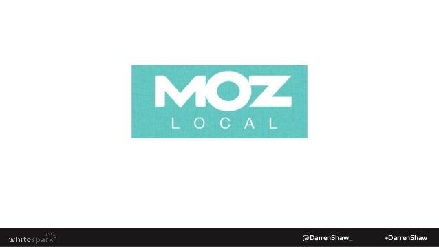 Citation GrowthMoz Local @DarrenShaw_ +DarrenShaw