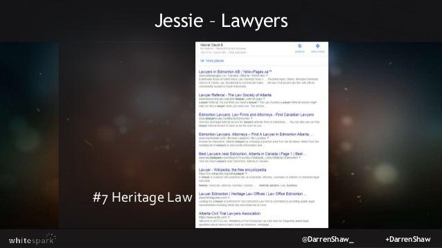 @DarrenShaw_ +DarrenShaw Jessie – Lawyers #7 Heritage Law