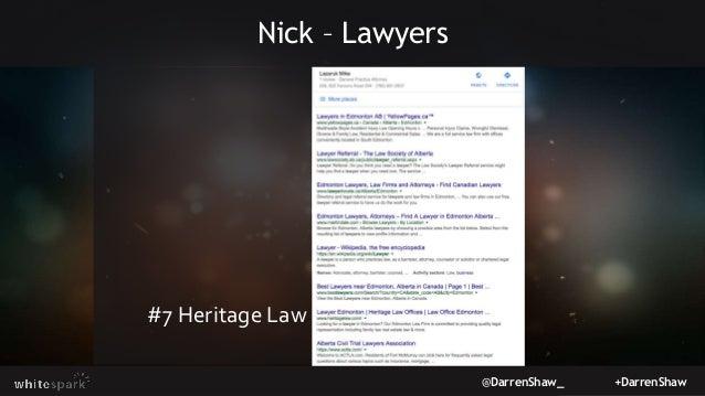 @DarrenShaw_ +DarrenShaw Nick – Lawyers #7 Heritage Law
