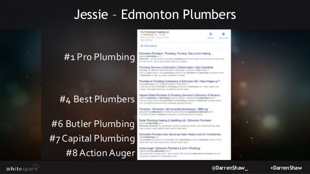 @DarrenShaw_ +DarrenShaw Jessie – Edmonton Plumbers #1 Pro Plumbing #4 Best Plumbers #6 Butler Plumbing #7 Capital Plumbin...