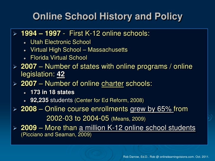 Whats Happening With K 12 Online Learning In California