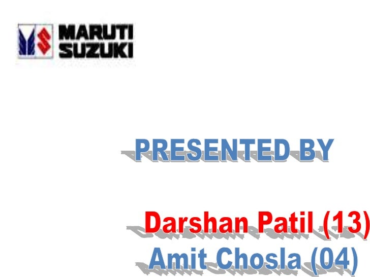 Maruti Udyog Limited (MUL) was established inFeb 1981 through an Act of ParliamentMaruti Udyog Ltd is one of Indias leadin...