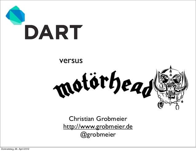 versus                                Christian Grobmeier                              http://www.grobmeier.de            ...