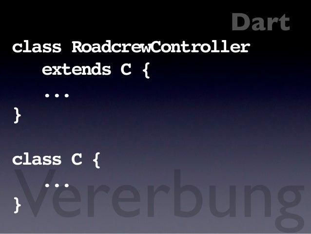 Dart != JavaScript