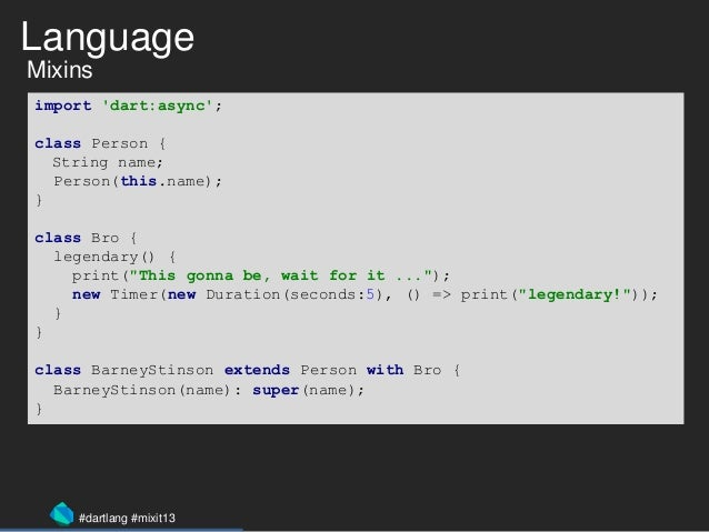 Dart : one language to rule them all - MixIT 2013