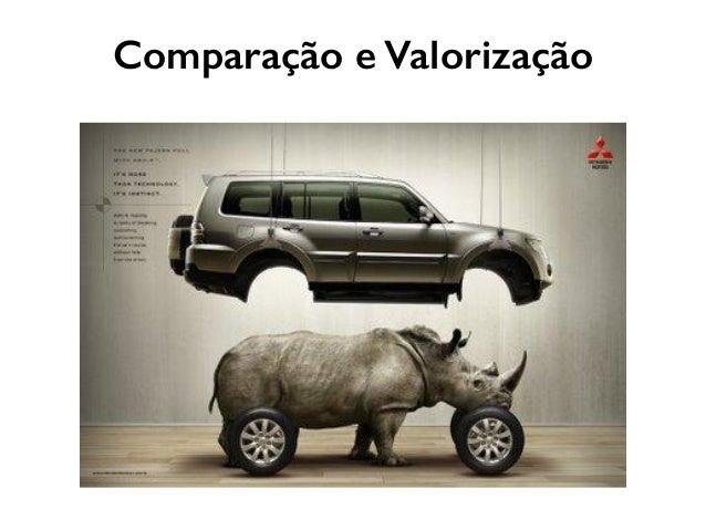 Comparação e Valorização