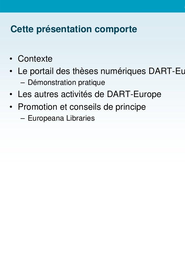 DART Europe Slide 2