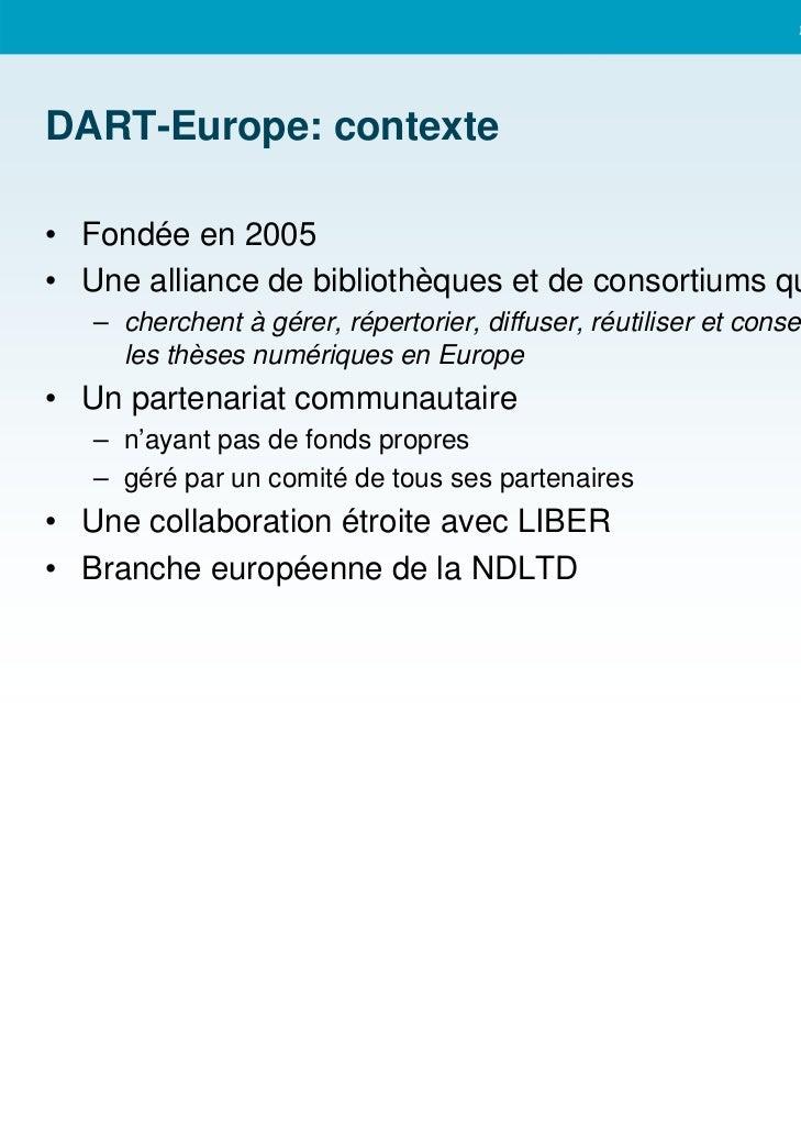 DART Europe Slide 3