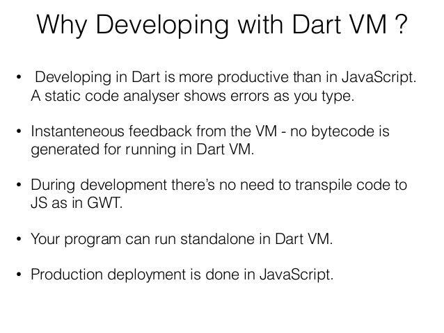 Dart for Java Developers