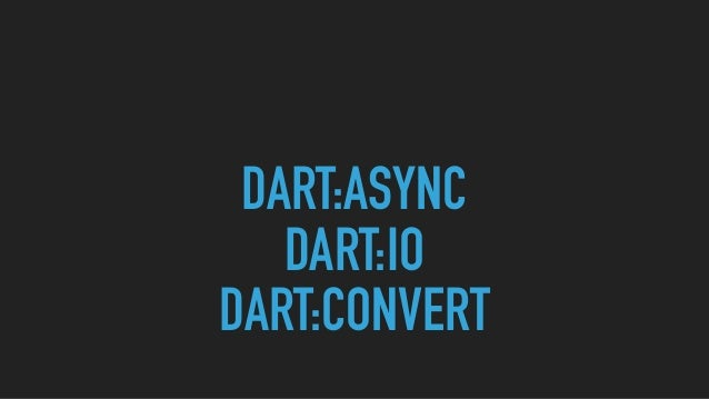 Dart on server - Meetup 18/05/2017